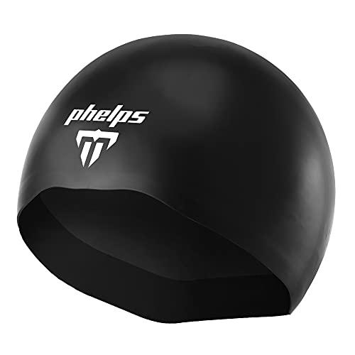 Aqua Sphere MP Michael Phelps X-02 - Gorro de natación (talla M), color negro