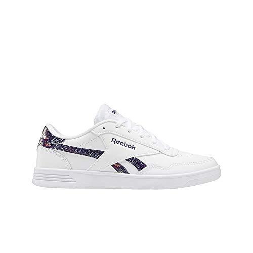 Reebok Royal TECHQUE T, Zapatillas de Tenis Mujer, Blanco/DRKORC/DRKORC, 35.5 EU