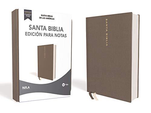 Compare Textbook Prices for NBLA Santa Biblia Edición para Notas, Tapa Dura/Tela, Gris, Letra Roja Spanish Edition  ISBN 0639390770011 by NBLA-Nueva Biblia de Las Américas