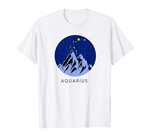 Wassermannzeichen Vintage Sternbild Sternbild Sternzeichen G T-Shirt