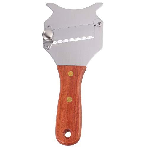 BESTonZON Rallador de chocolate, cortador de troncos de acero inoxidable para chocolate, rallador de trucha, herramienta de cocina (2 unidades)