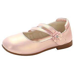 YWLINK Zapatos para NiñOs,NiñAs De Los NiñOs Flores Dulces Zapatos PequeñOs Zapatos De Princesa Zapatos Solos Zapatos Frescos Zapatos De Princesa Zapatos De Baile(Rosado,34EU)