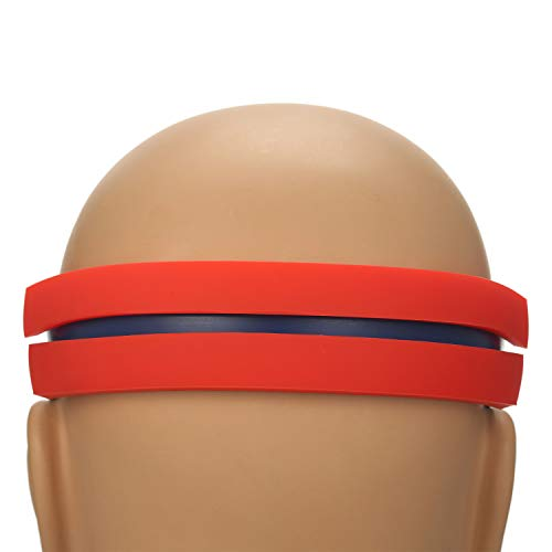 Anself Schablonen-Rasiervorlage Haarschneide-Anleitung für das Haarstyling DIY Straight Lines Freisprechen Rasieren Verwenden Sie die Silikon-Ausschnitt-Anleitung