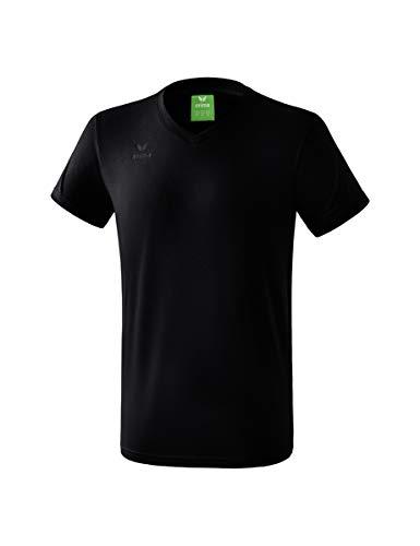 Erima Herren Style T-Shirt, schwarz, L