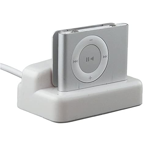 Cargador de HotSync y carga de escritorio horquilla del muelle de Bargaincell USB para Apple iPod Shuffle 2 Generación MP3 Player