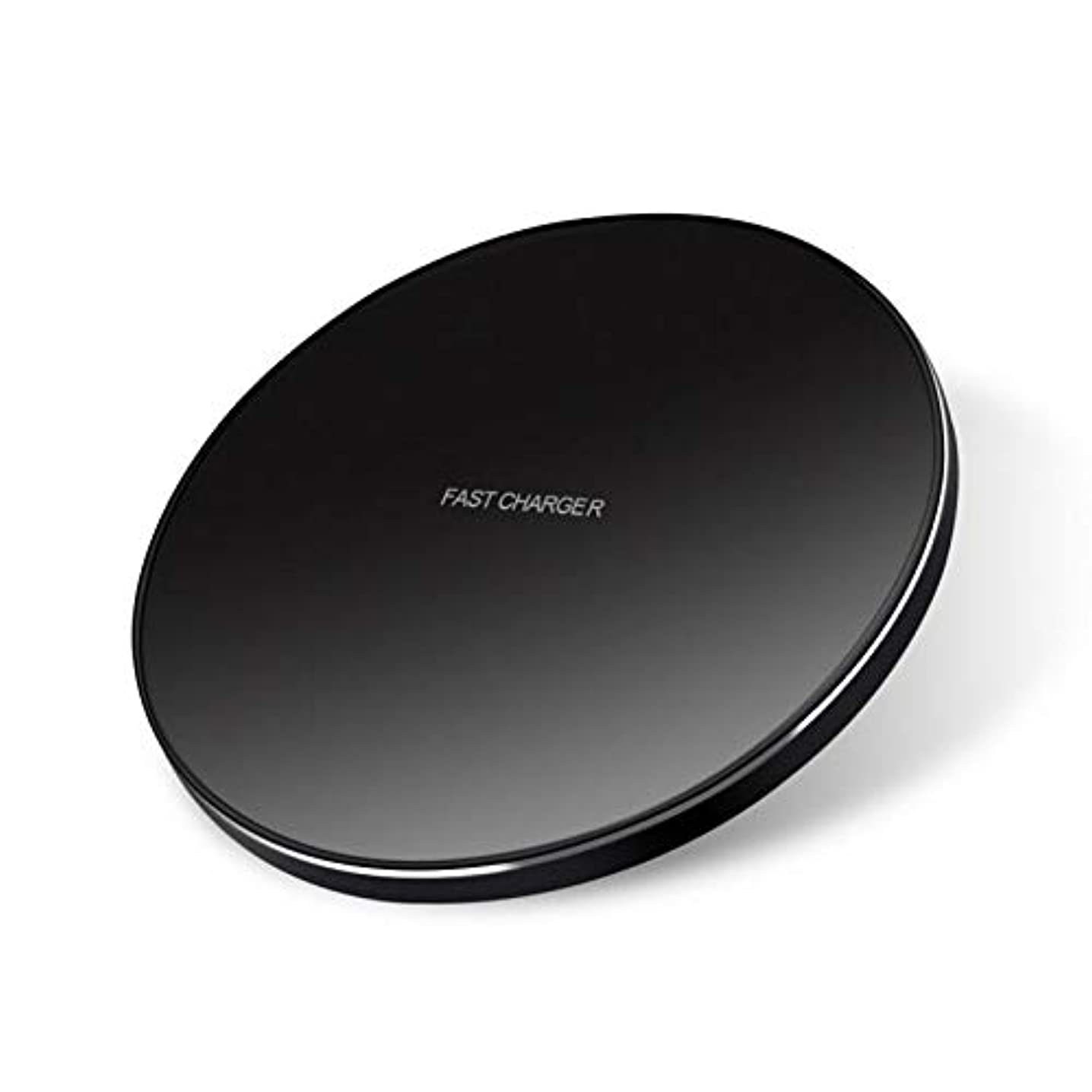 7.5W and 10W Fast Charge Wireless Charger Slim Charging Pad Compact Power Adapter Black [Non-Slip] for Cricket Samsung Galaxy S9 (G960UZKAAIO) - Cricket Samsung Galaxy S9+