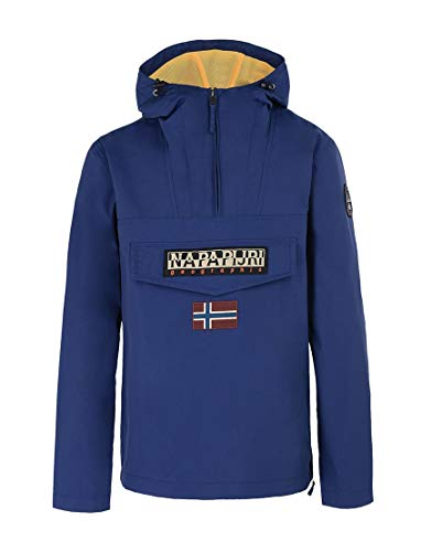 NAPAPIJRI Rainforest M Sum 1, Giacca Uomo, Blu (Blue Depths Ba3), Medium