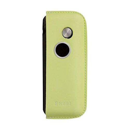 ファンファン(ライムグリーン)&人気のアロマset【モバイルディフューザー funfan+AromaOil】mobile diffuser (フレッシュハーブ)