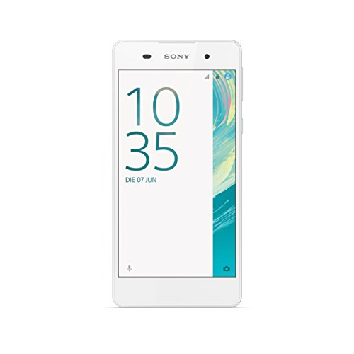 Sony Xperia E5 Smartphone (12,7 cm (5 Zoll) Touch-Display, 16 GB Speicher, Android 6.0) weiß
