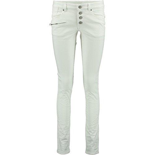 Zabaione Damen Skinny-fit-Jeans »Kim« Weiß 44