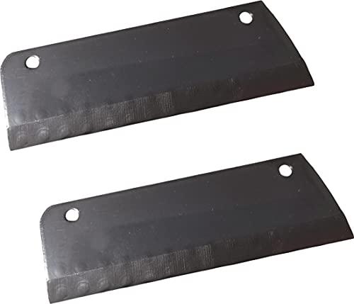 Lame coltello ricambio per disco modello DQ cubetti per Tagliaverdure TAGLIO A CUBETTI SIRMAN LA FELSINEA coppia