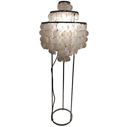 Stehlampe Stehlampe Vertikale Lampen Lichter Sea Rock Muschellampe Skandinavischer Stil Stehlampe Muschel Stehlampe Kreative Beleuchtung Studie Schlafzimmer Vertikale Tischlampe, E27 Stehlampen Indoo
