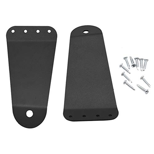 XJMOTO 42' LED Light Bar Upper Roof Windshield Mounting Brackets Compatible with 1995-2004 Tacoma 4 Runner