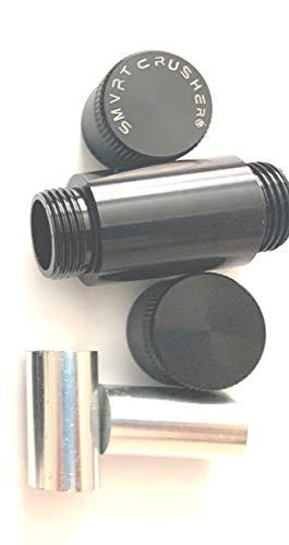 SMART CRUSHER Titanium Spice Herbal Herb Press Presser with 2 Metal Dowels