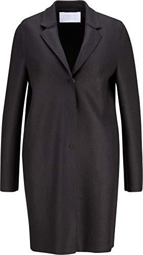 Harris Wharf London Damen Mantel Cocoon aus Schurwolle schwarz 42 IT/S