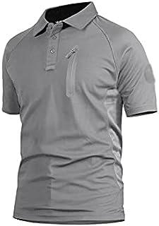Wanxiaoyyyinnsdx Mens Henley Short Sleeve, Summer Men's Performance T-shirts Short Sleeve T-shirts Quick Dry Lightweight H...