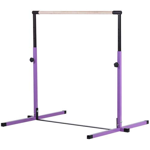 Nimble Sports Purple Junior Adjustable Horizontal Bar - Kids...