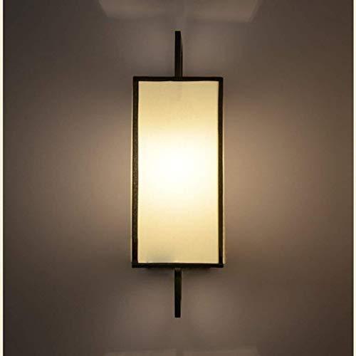 CKQ-KQ Wand eenvoudig en modern Fashion Chinese stijl doek muur Lamp, Warm slaapkamer bedlampje woonkamer aan de muur Lamp, Corridor Aisle Lamp Hotel Lamp wandlamp