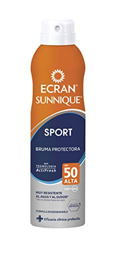 Ecran Sun Lemonoil Sport Spray Invisible Spf50 - 250 Ml