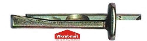 Deckenanker KRW Feuerfest Wkret-met Decken-Anker Deckennägel Metallschlagdübel Deckendübel Deckenanker (100Stk. Ø 6 x 65mm)