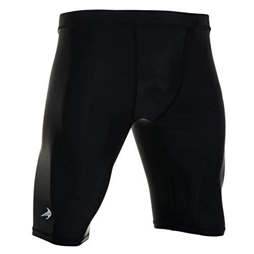 CompressionZ Compression Shorts for Men - Pro Support Athletic Underwear (Black, L)