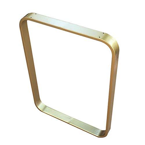1 Paket Metall Tischbeine, Höhe 27,6 Zoll, verstellbare Esstischbeine, U-Form Küchentischbein, Büromöbel Beine, Gold