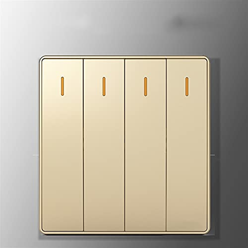Ploutne Resistente a alta temperatura, retardante de llama, interruptor de iluminación para el hogar, ventilador de techo, interruptor de iluminación de la casa, interruptor de pared reemplazable, int