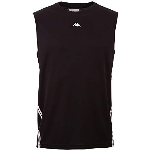 Kappa ILVO Men T-Shirt, Caviale, S Uomo