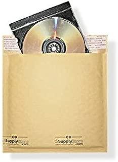 """#CD 6.5""""x9.75"""" KRAFT BUBBLE MAILER PADDED ENVELOPES-100ct"""