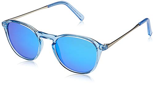 Gafas de Sol Polarizadas Mujeres Retro Espejo Redondas Vintage Transparente Deportivas Ciclismo Running Conducción Modernas Vogue TAC Lentes UV Proteccion Chica Adulto