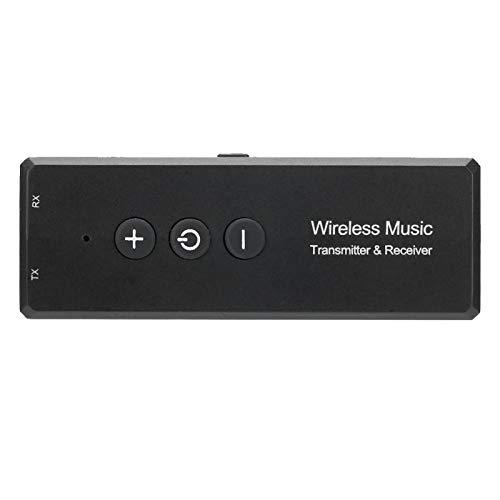 DONN Adaptador De Audio Inalámbrico, Receptor De Transmisor Multifunción con Chip V5.0 para Tabletas