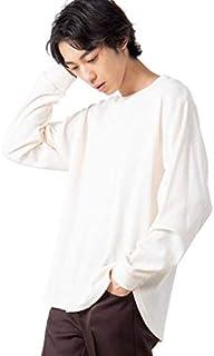 [ウィゴー] 【WEB限定】 男女兼用 無地 Tシャツ ロングTシャツ ロンT ワッフル カットソー 長袖 インナー メンズ レディース