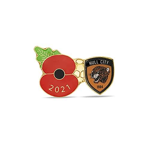 Hull City Poppy Football Pin 2021