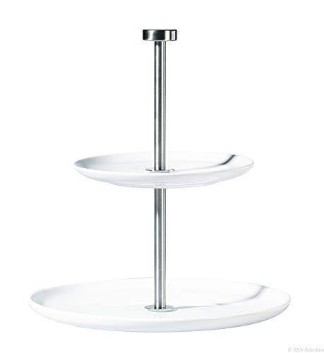 ASA Etagere, Porzellan, Weiß, 18x18x24 1