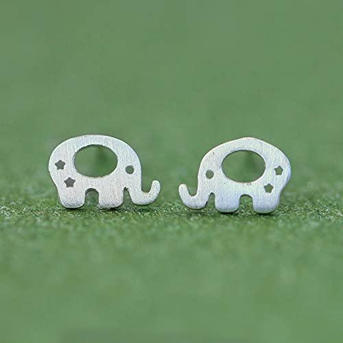 Pendientes De Elefante Pendientes Lindos De Dibujos Animados para Niños Pendientes De Animales De Elefante Bebé para Niñas (Paquete De Regalo)