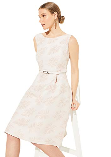 comma Damen 8T.004.82.5392 Kleid für besondere Anlässe, 40U4 Jacquard Flower, 44