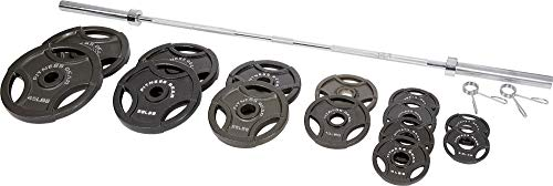 Fitness Gear 300 lb Olympic Weight Set