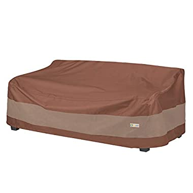 Duck Covers Ultimate Waterproof Patio Sofa Cover, Outdoor Couch Cover with All Weather Protection, Patio Furniture…