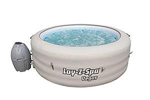 immagine di Lay-Z-Spa - Vasca idromassaggio Vegas con idromassaggio gonfiabile per 4-6 persone