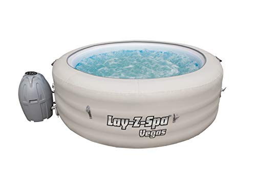 Lay-Z-Spa Vegas Hot Tub with Airjet Massage System, Inflatable Spa, 4-6 Person