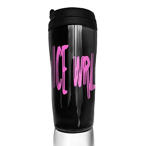 Qurbet Tazza da Viaggio da caffè, Coffee Travel Mug, Juice WRLD, Milk Tea Drinking Bottiglia d'Acqua Coffee Mug Carry Hand Cup for Women Men