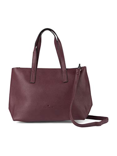 TOM TAILOR Damen Taschen & Geldbörsen Shopper Marla bordeaux/wine,OneSize