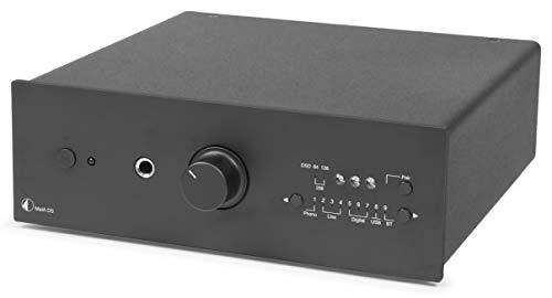 Pro-Ject MaiA DS, Stereo-Vollverstärker mit 9 Eingangsoptionen & App-Steuerung (Schwarz)