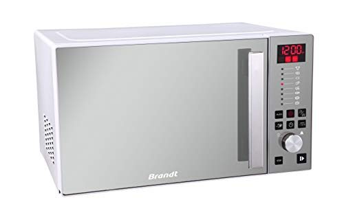 Brandt - Micro-ondes Gril 26L Elect 900W Silver