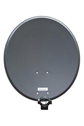 RED OPTICUM QA 60 antenna satellitare in acciaio (60 cm) antracite