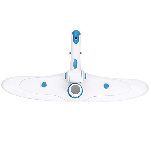 Denkerm Staubsauger, Unterwasser Verstellbarer Schmutz Langlebige 45-cm-Poolbürste, Teichreinigungsbürste für die Poolreinigung Poolpflege Schwimmbadzubehör