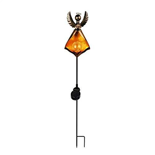 Lámparas de Techo Exteriores Luces solares de jardín, luces solares al aire libre, la trayectoria del jardín de iluminación simulada Llama llevó la lámpara del césped a prueba de agua, for el jardín,