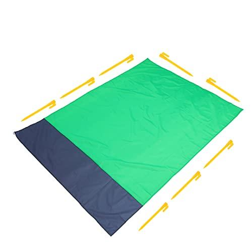 Balacoo Strand Decke Faltbare Sandproof Strand Matte wasserdichte Picknick Decke Matte Waschbar Teppich für Wandern Camping Reise