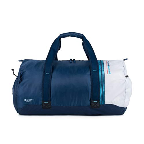 Gym Duffle Bag Williams Racing - Bolsa de Deporte, Color Azul Marino