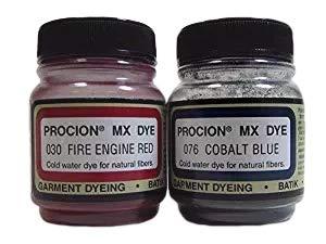 Fiber Reactive Dye Set - All American Colors